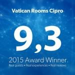Vincitore del                  Booking 2015 Award